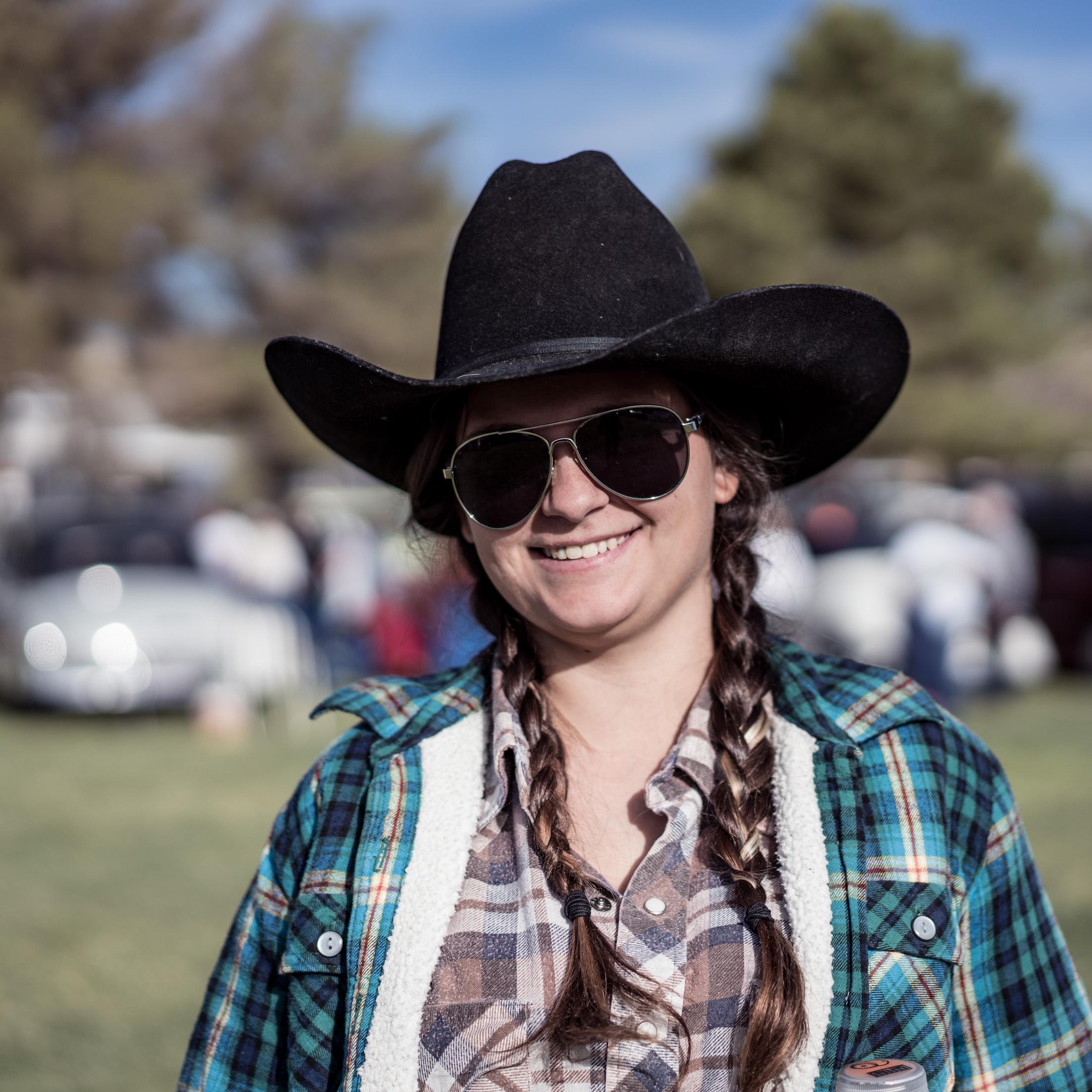 USA, Portraits, cowgirl