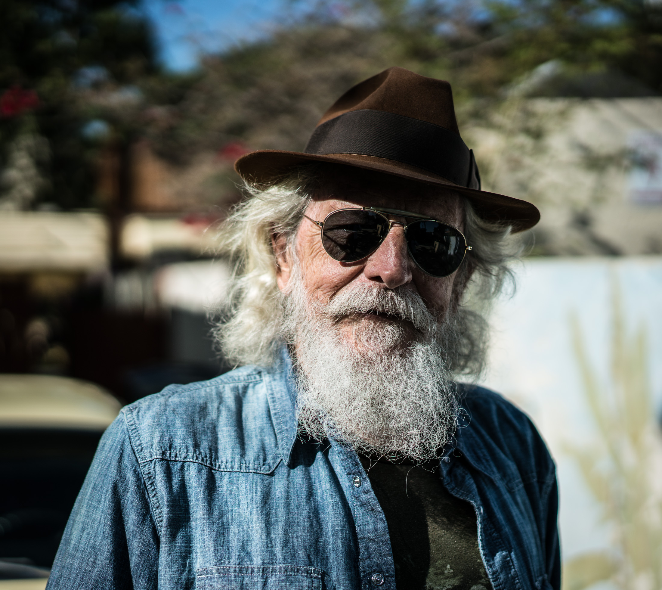 USA, Portraits, Loas Angeles, beard
