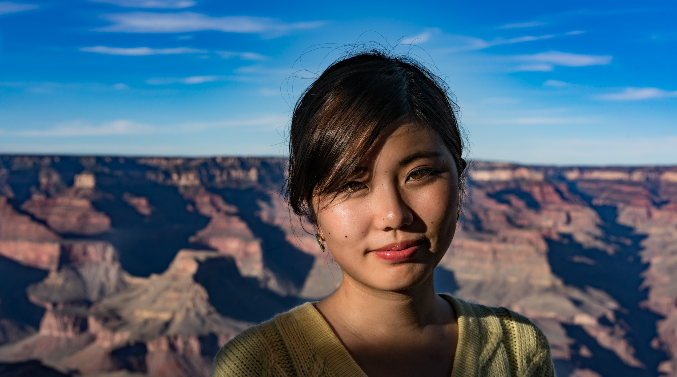 USA, Portraits, asian, Grand Canyon.