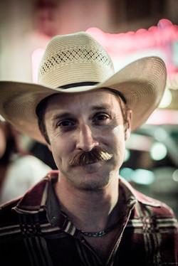 USA, Portraits, cowboy, hat