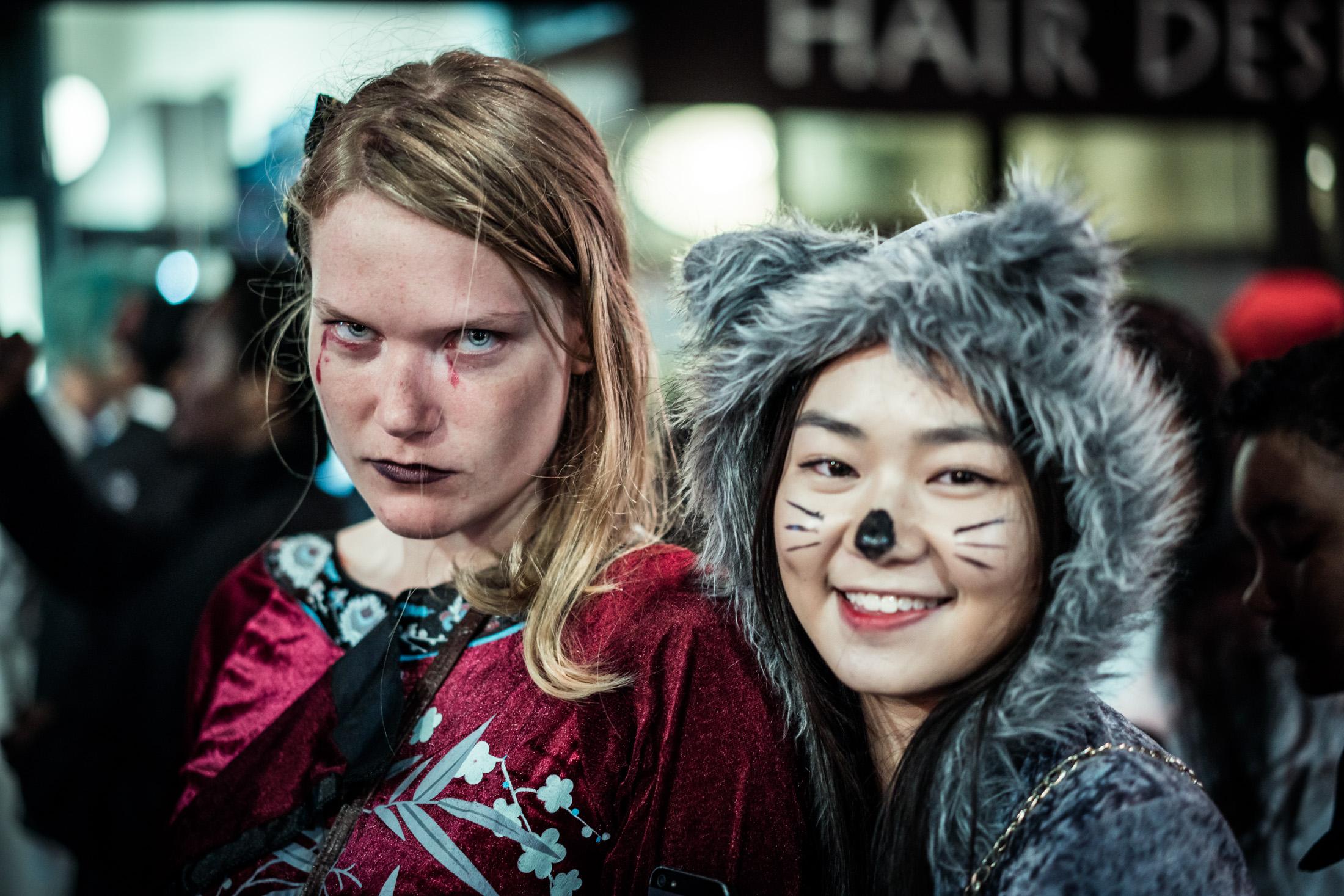 USA, Portraits, halloween, zombie