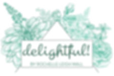 delightful! by Rochelle Leigh Wall logo