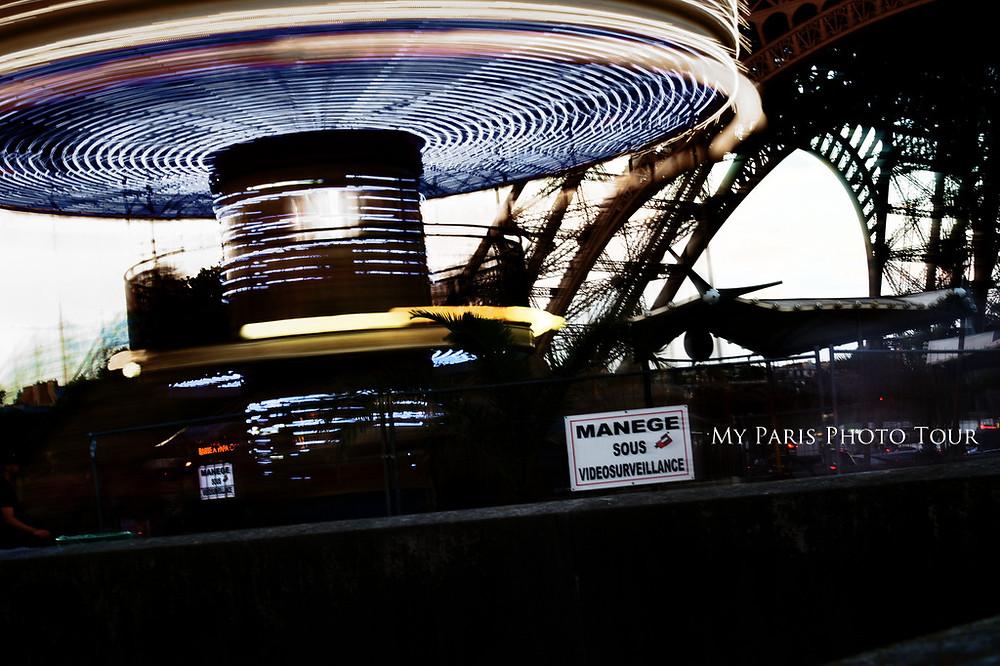 manège del Sena Torre Eiffel