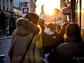 Llega la primavera. Fotografiar París antes de que renazca el sol.