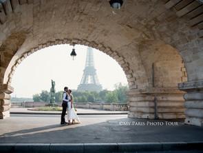 Comment prendre vos photos de lune de miel et d'après-mariage à Paris?