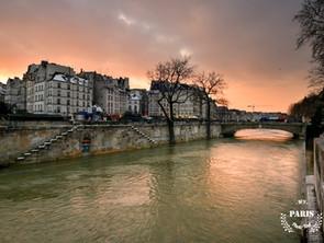 Photographier Paris quand il y a de la neige et qu'il y a du soleil!