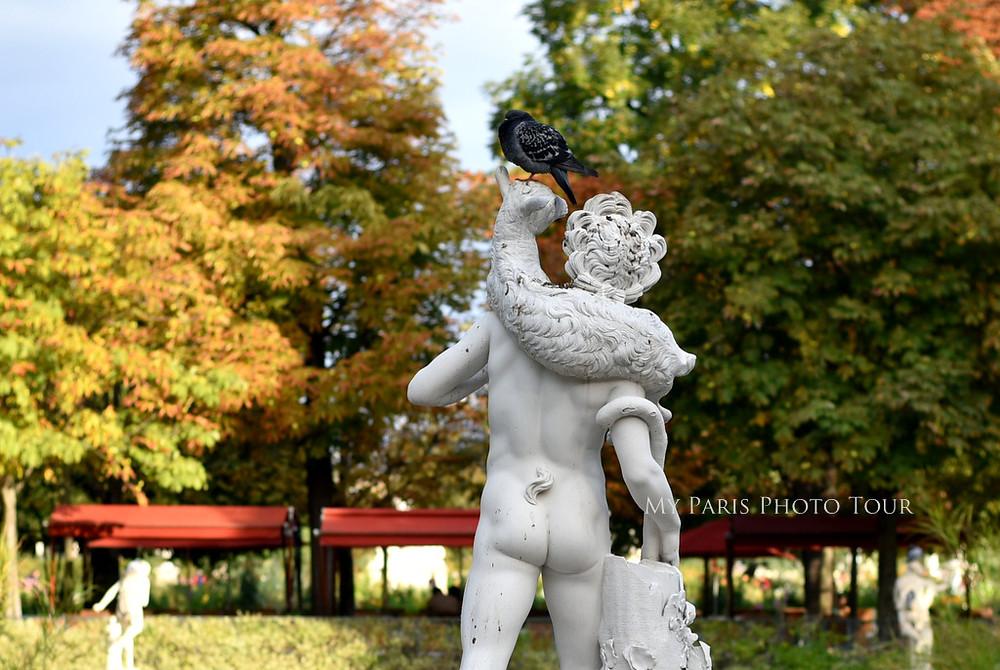 escultura Jardín de las Tullerías