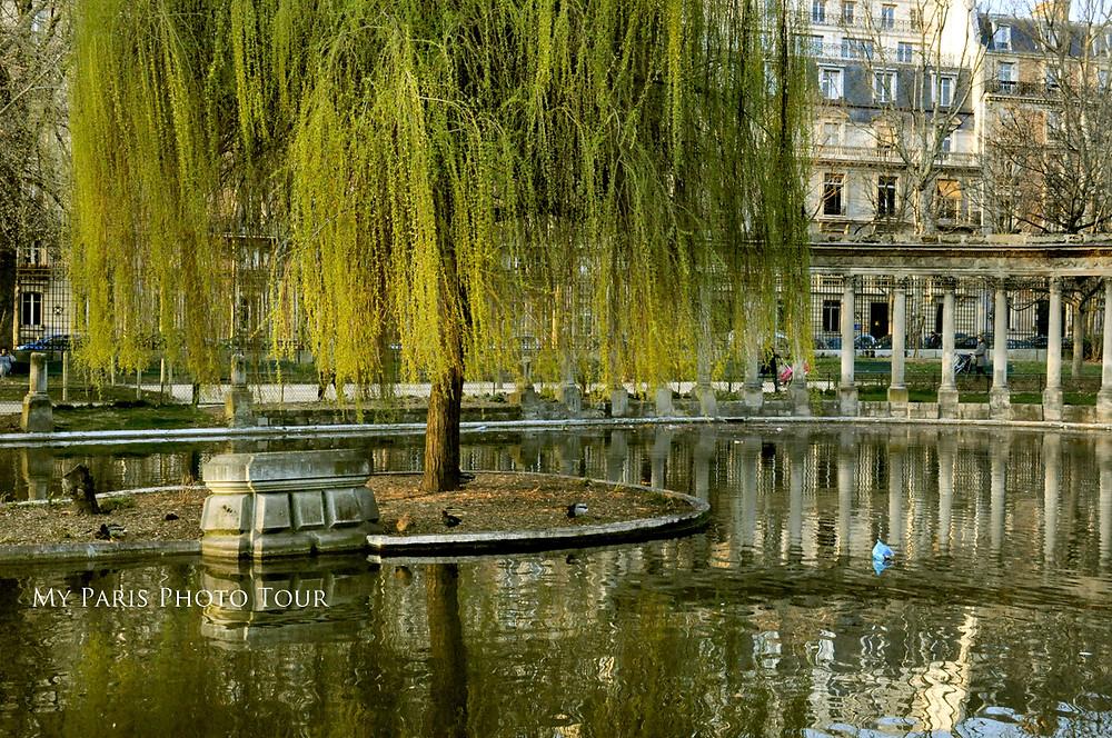 foto Parque Monceau París