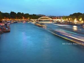 Le flou de mouvement : une promenade sur la Seine