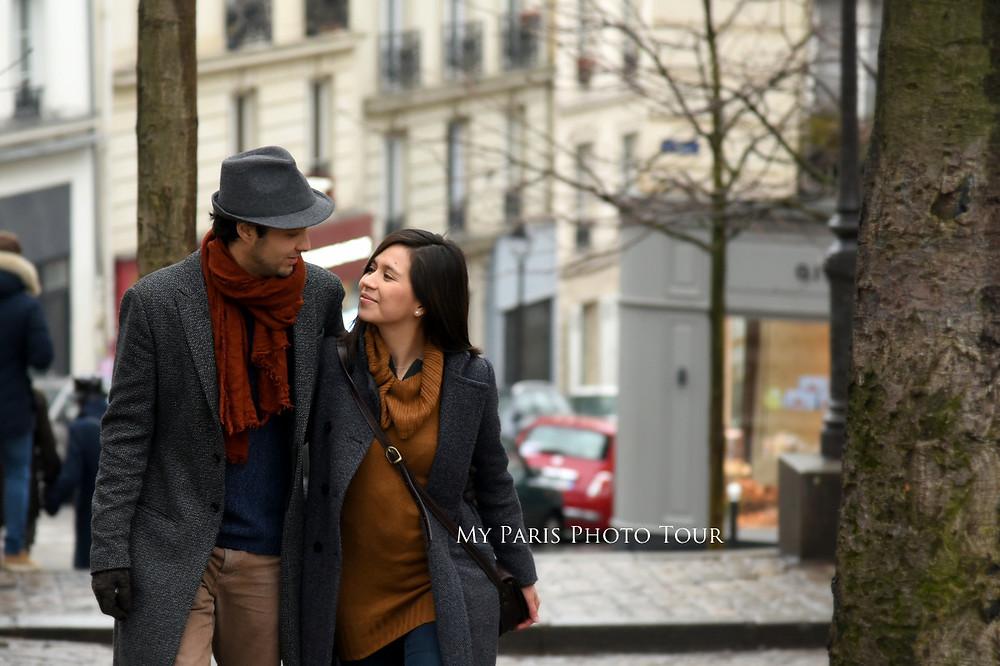My Paris Photo Tour foto luna de miel postboda cafe Paris fotografo español