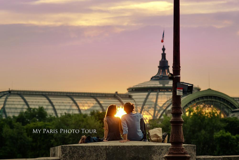 My Paris Photo Tour foto luna de miel postboda Grand Palais Paris fotografo español