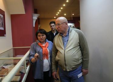 Экспозиция Музея книги в библиотеке им. Ленина