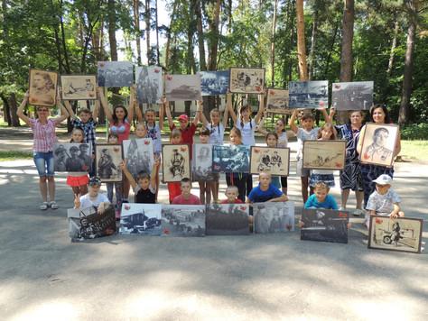 Фотовыставка «Наша Победа» вдетских оздоровительных лагерях Нижегородской области