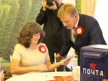 Комсомольская свадьба и открытки из прошлого в Нижнем Новгороде