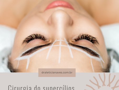 Cirurgia do supercílios
