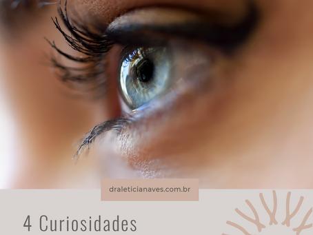 4 curiosidades sobre a retina