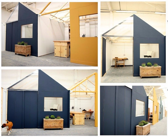 Makers Quarter UK Studio Pod's now available! - Now Fully Let!