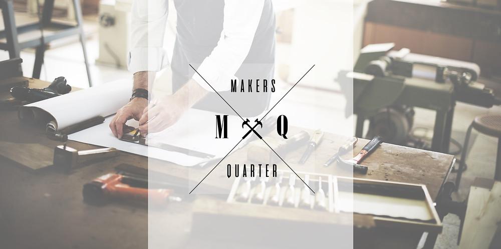 Makers Quarter UK banner and logo