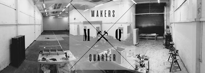 Image of inside Makers Quarter makerspace in manchester