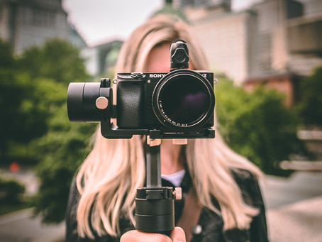 Does being on camera make you self-conscious? Here are some helpful tips!
