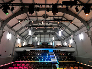 The New Pavilion Arts Centre. Buxton, Derbyshire.