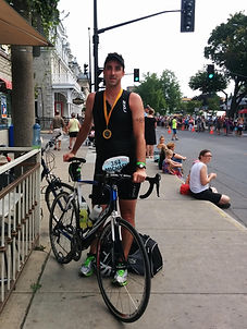Kingston Triathlon 2014 – Dr. Michael Korczynski (Kingston Chiropractic and Rehabilitation)