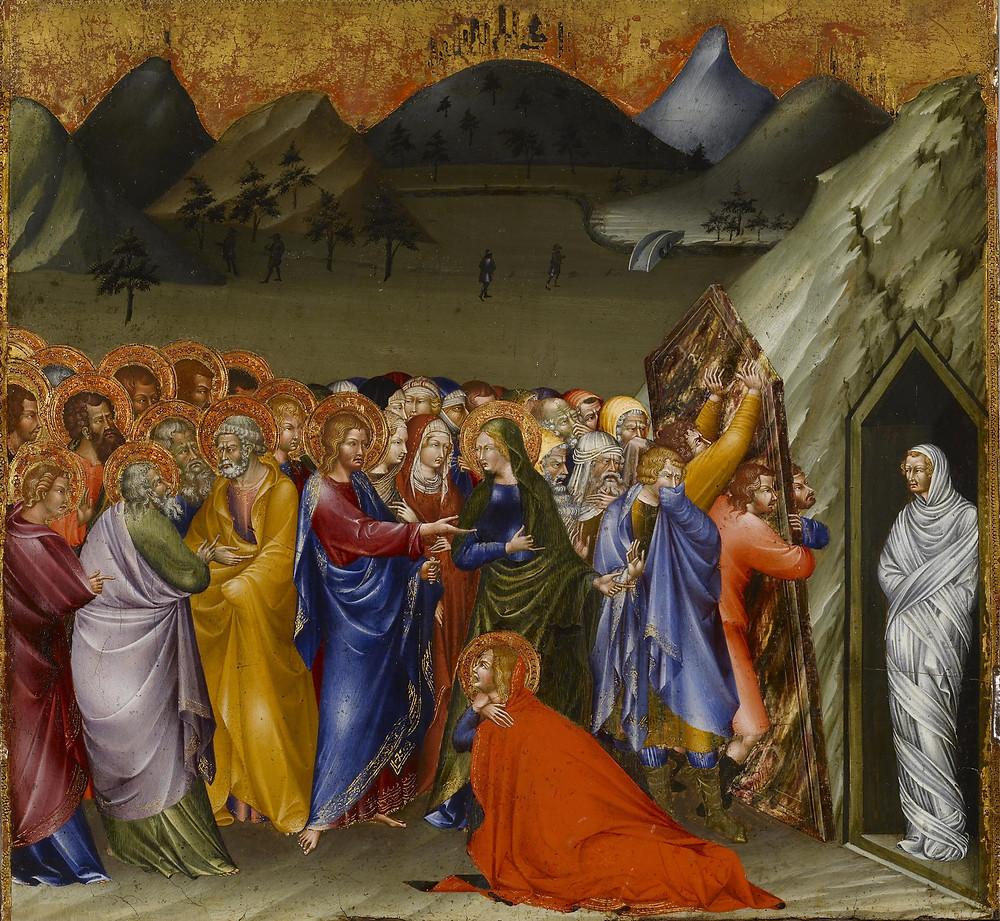 Giovanni di Paolo, Thie Rising of Lazarus 1426