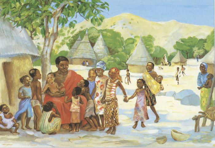 JESUS MAFA. Jesus welcomes the children, from Art in the Christian Tradition, a project of the Vanderbilt Divinity Library, Nashville, TN. Vanderbilt digital library [retrieved June 29, 2017].