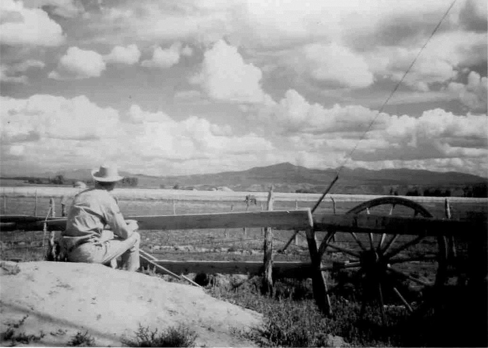 A Desolate place, Spicer Family Ranch c1940