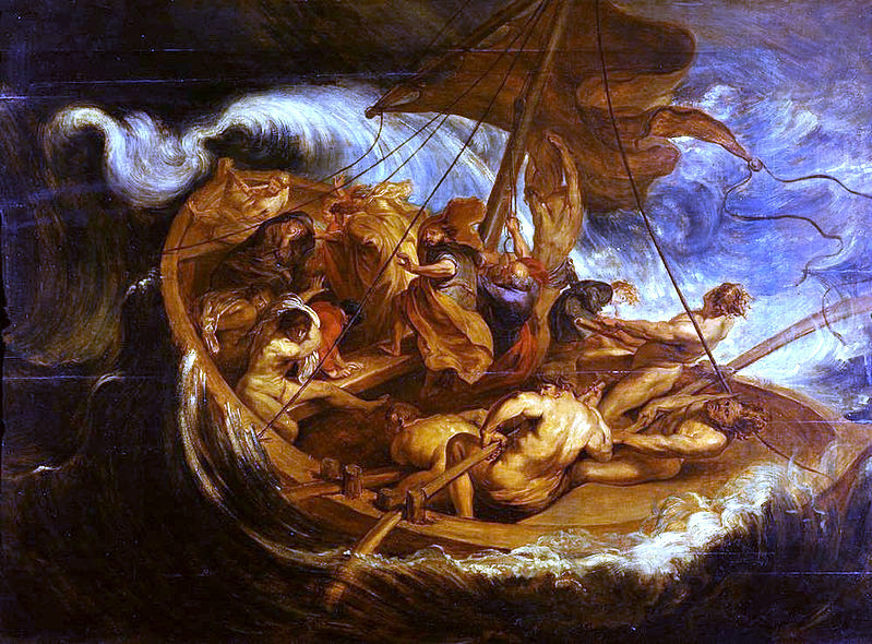 """Christ on the Sea of Galilee,"" Peter Paul Rubens (1577-1640), [Public domain], via Wikimedia Commons"