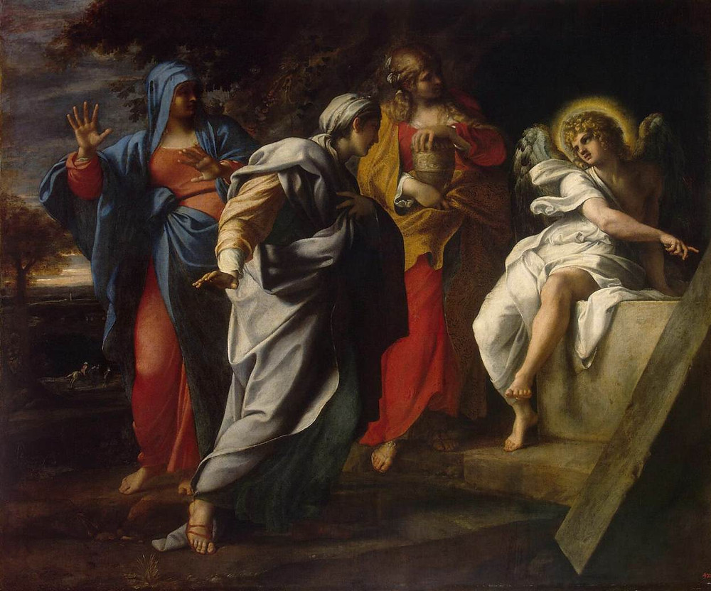 Carracci, Annibale. 1560-1609 Holy Women at Christ' s Tomb