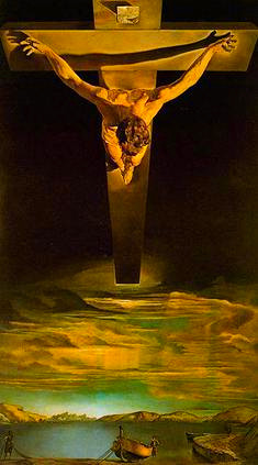 Christ of Saint John of the Cross by Salvador Dalí, 1951.