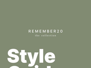 REMEMBER20 Style Guide