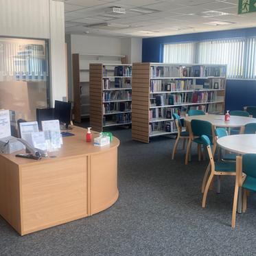 The Grange Hospital Library **Open**