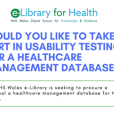 Healthcare Management Database Usability Testing