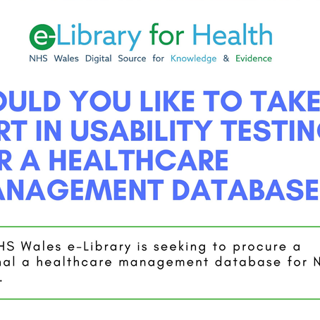 Healthcare Management Database Usability Testing