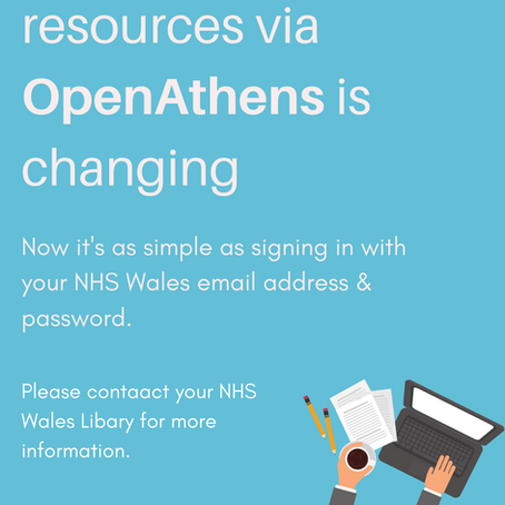 Access to online resources via OpenAthens is changing