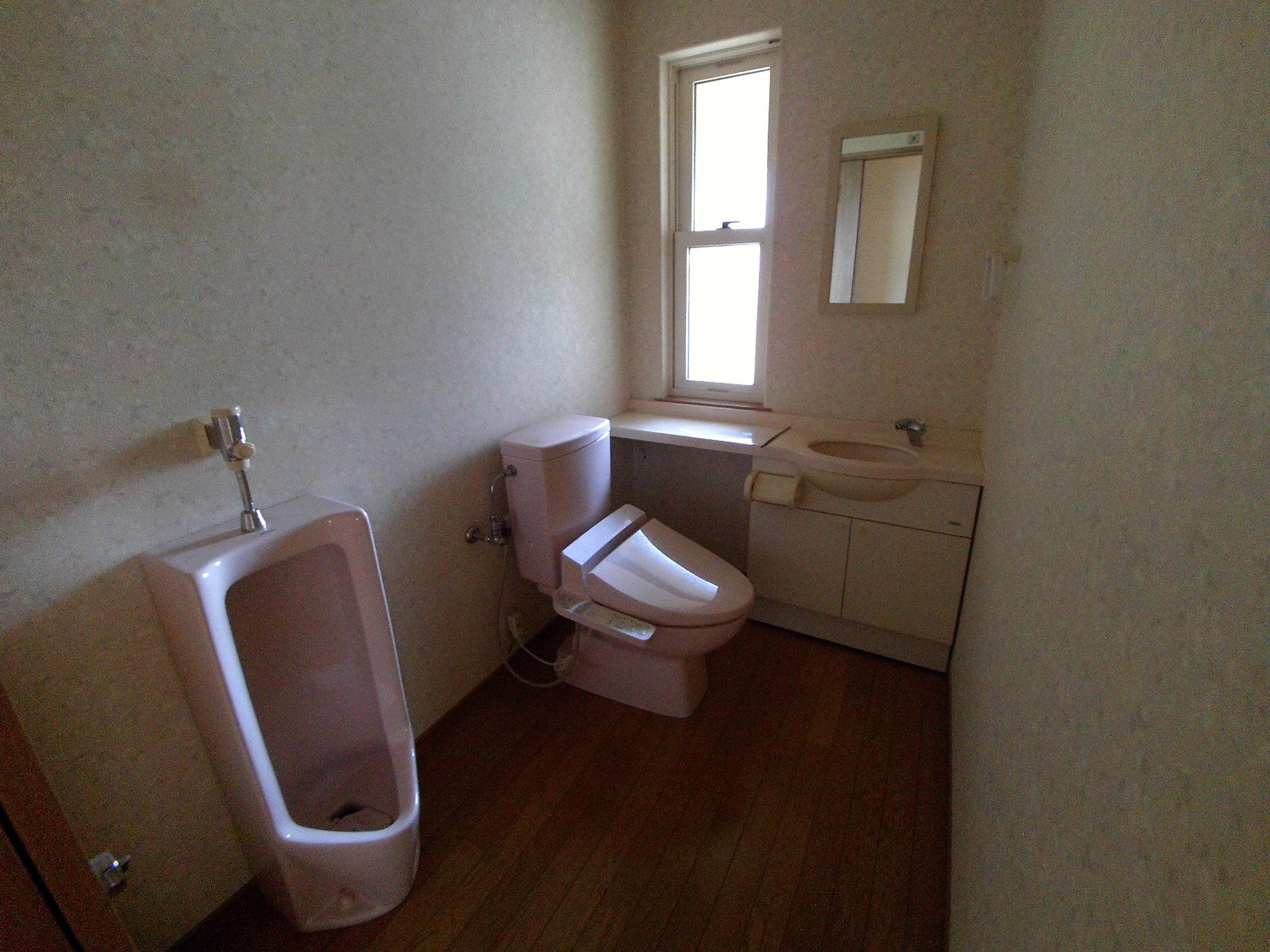 トイレ2穴