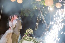 Wedding Kiss Bali Wedding Photo
