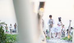 Bali Beach Wedding Photo