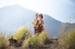 Bali Traditional Costume Pre-Wedding