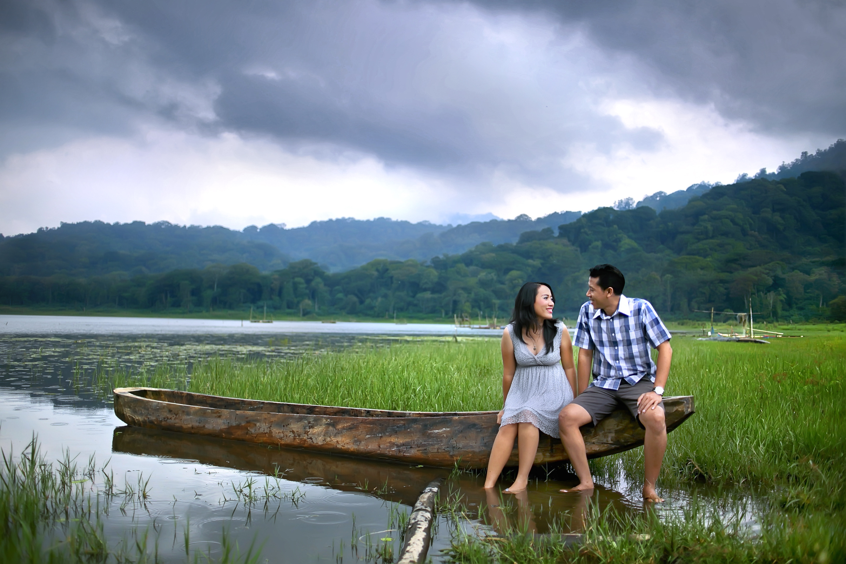 Casual Outdoor Bali PreWedding Photo