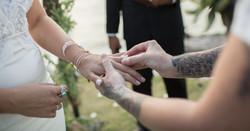 Wedding Ring Moment  Bali Wedding