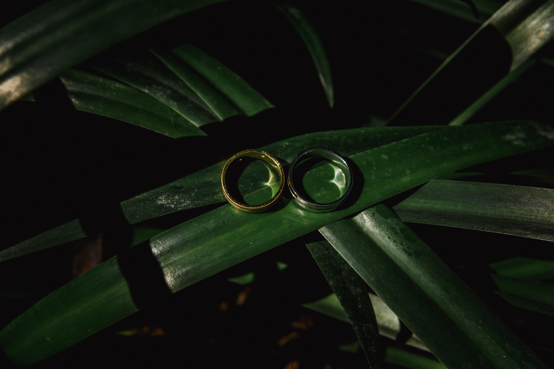 Couple Rings Bali Weeding Photo