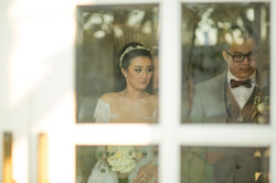Couple Interior Bali Wedding Photo