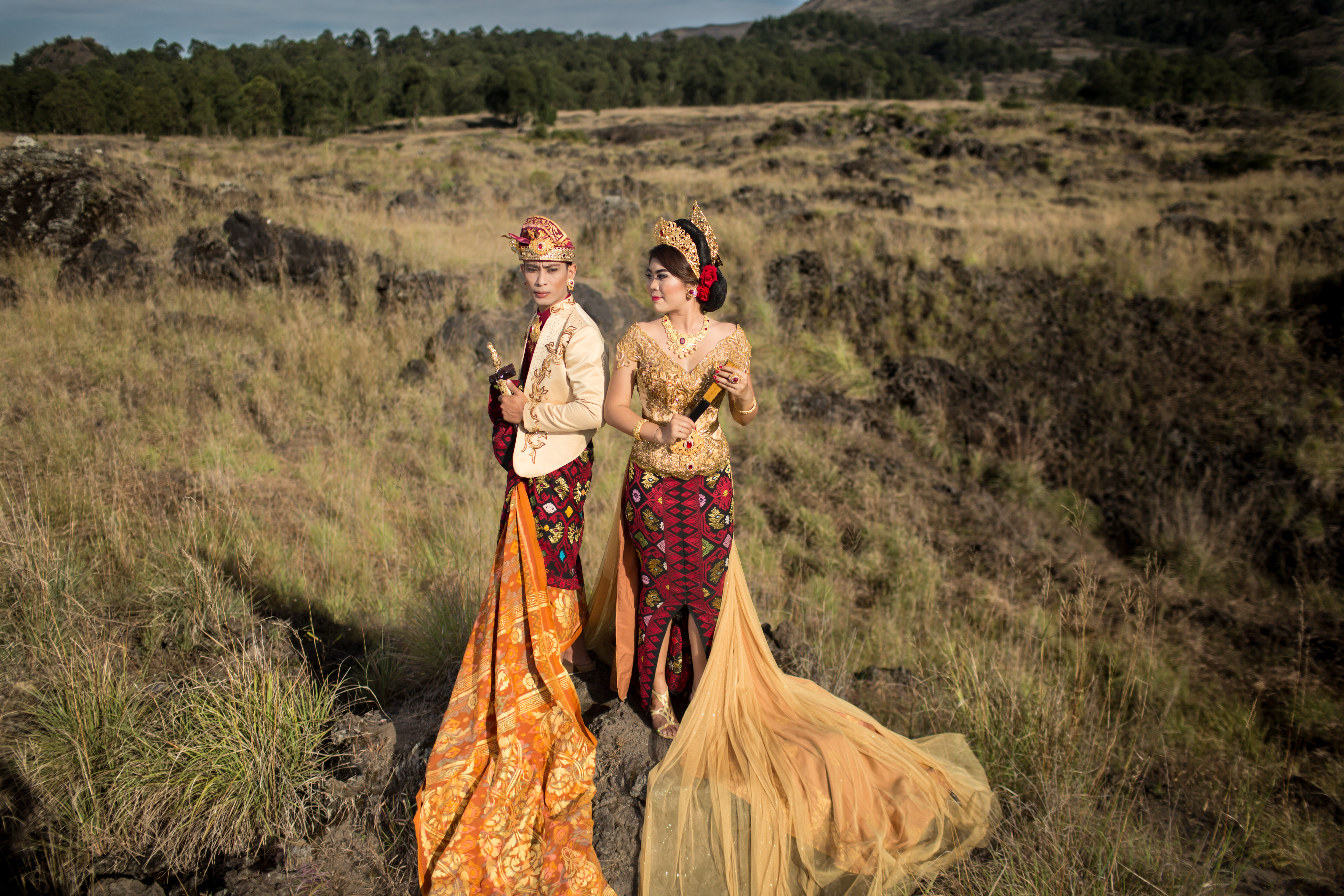 Glamour Traditional Bali Pre-Wedding