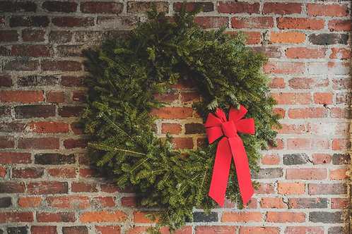 Fresh Greens Holiday Wreath (Assorted Styles)