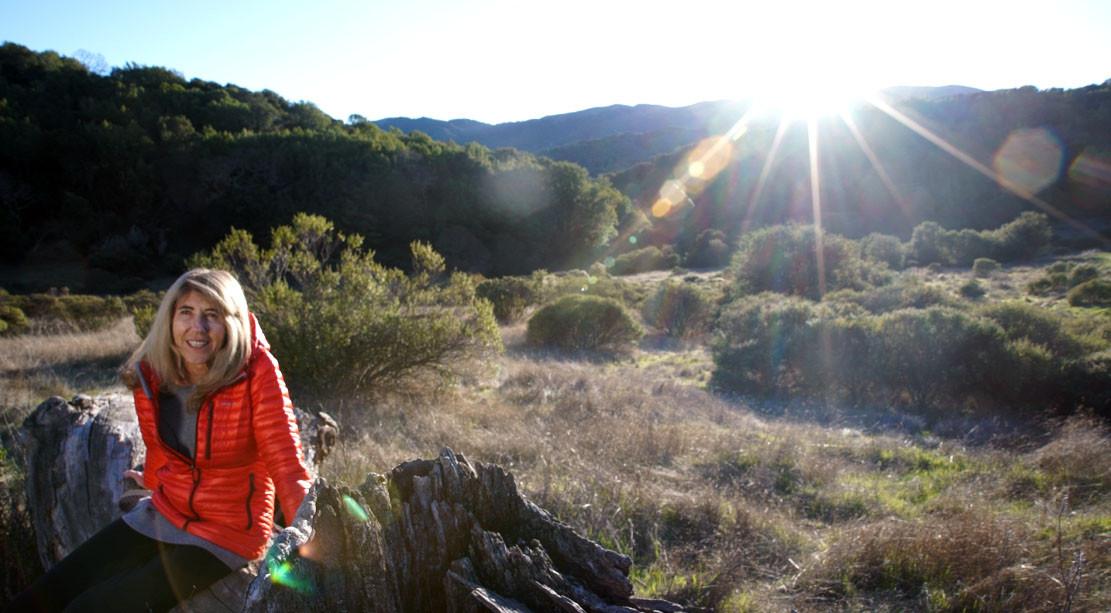 Barbara at Indian Valley