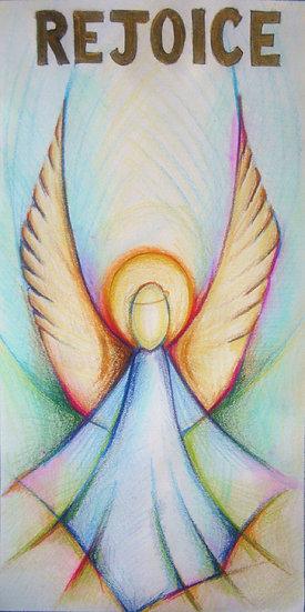 angel rejoice banner