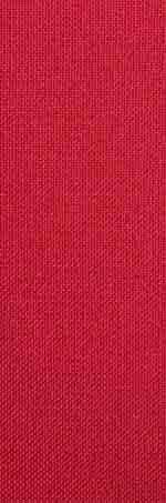 Plain red stole